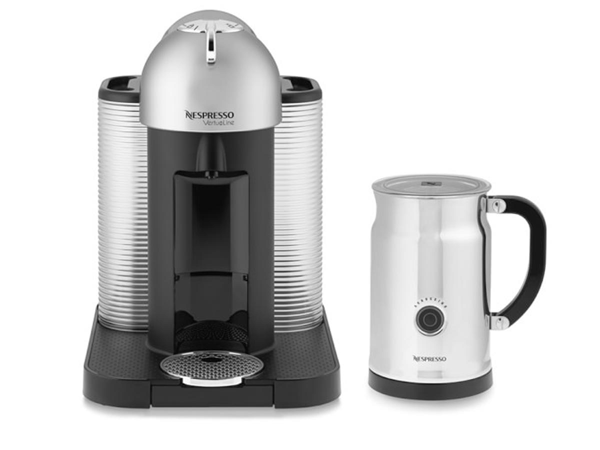 1803w Nespresso Vertuo Coffee Espresso Maker with Milk Frother