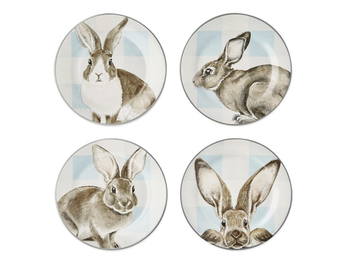 Williams Sonoma Bunny Plates