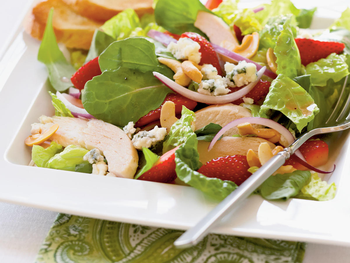 Chicken and Strawberry Salad