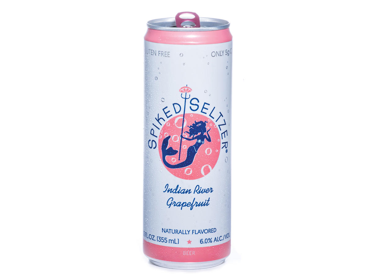 Spiked Seltzer Indian River Grapefruit