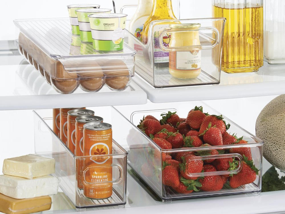 Refrigerator and Freezer Organizer Bins