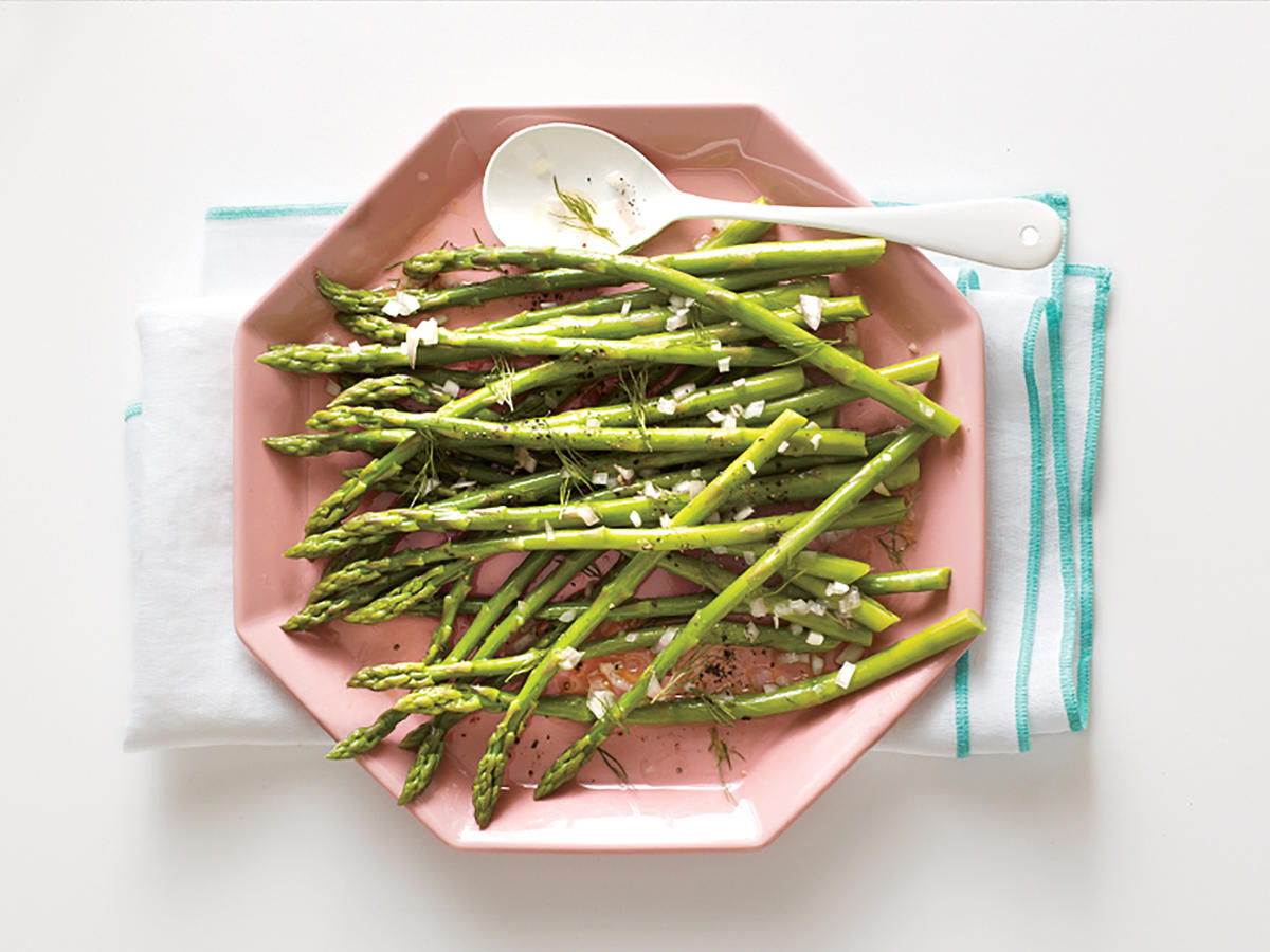 Asparagus with Dill Vinaigrette