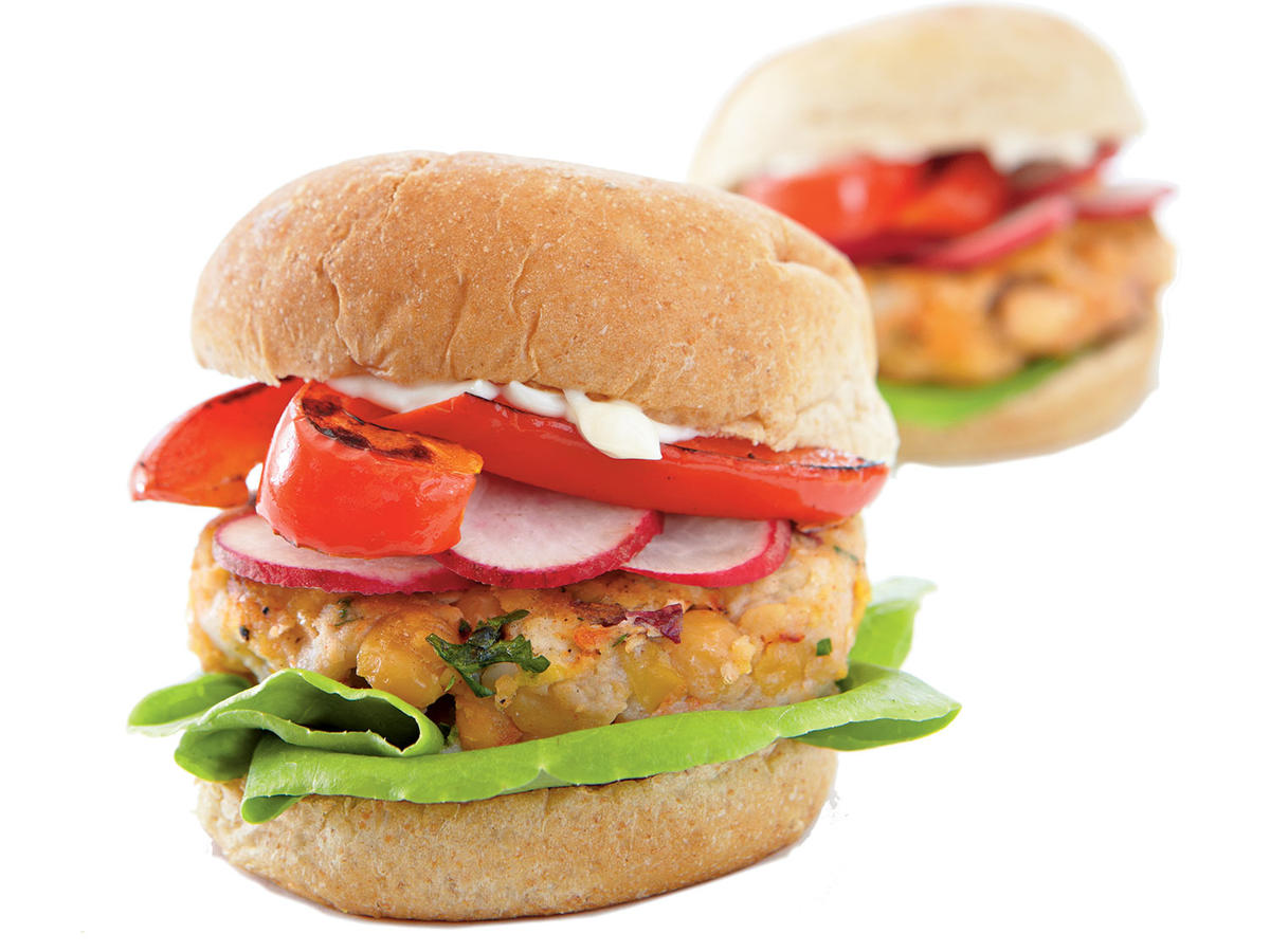Middle Eastern Chickpea Miniburgers Recipes