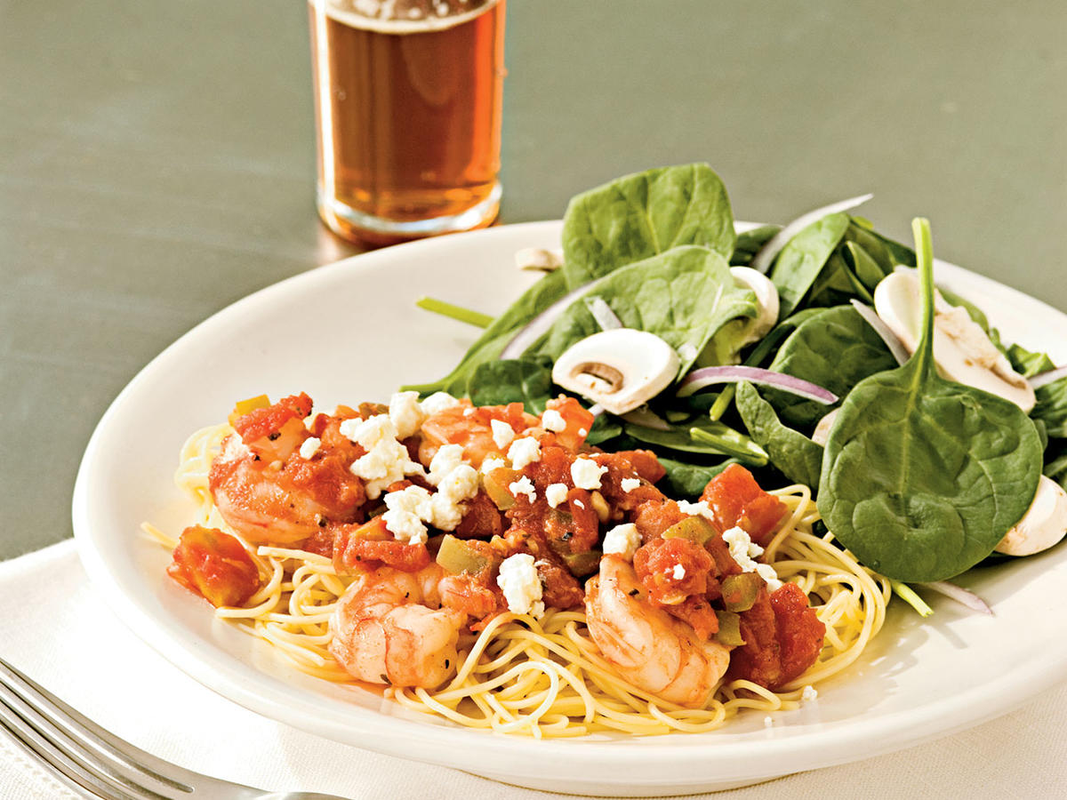 Greek-Style Scampi