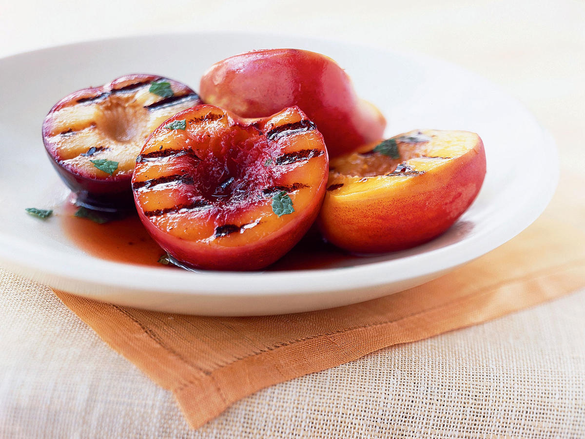 Healthy Grilled Stone Fruit Antipasto Recipe