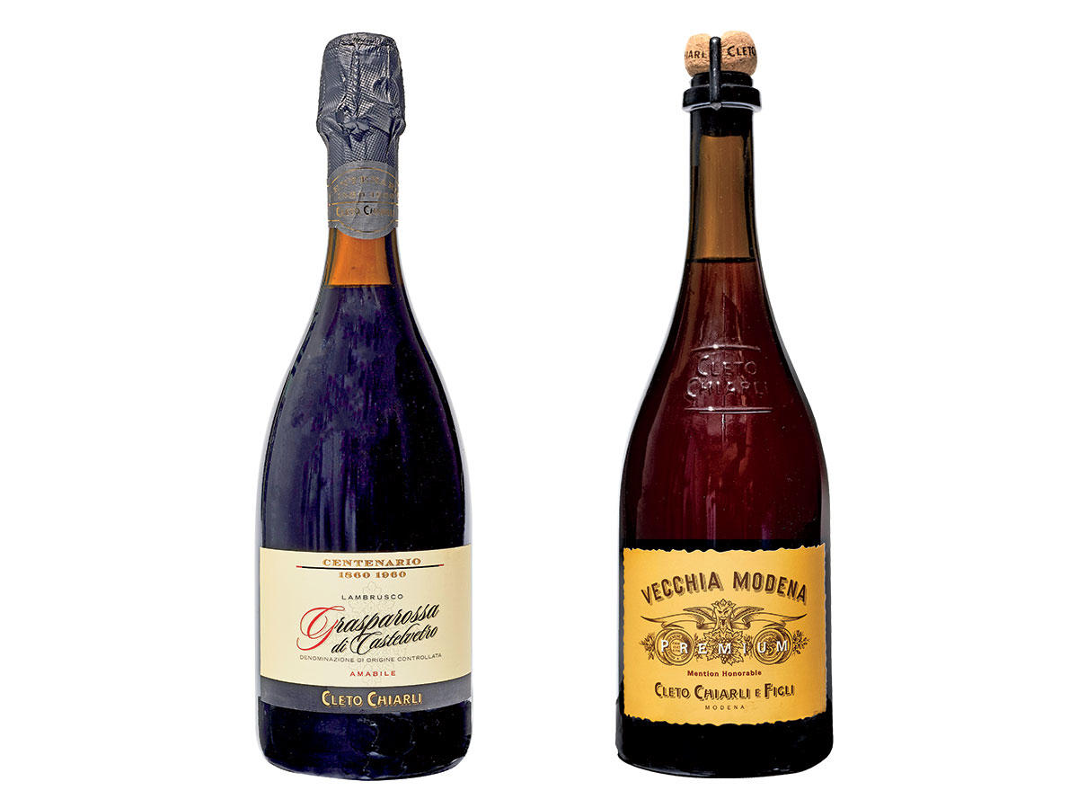 Lambrusco Italian Red Sparkling Wine