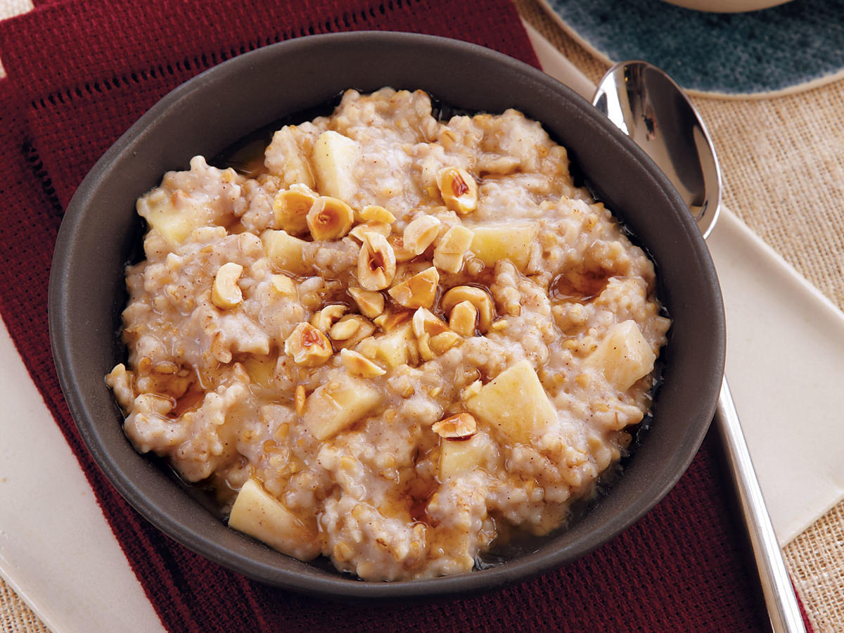 Maple-Hazelnut Oatmeal