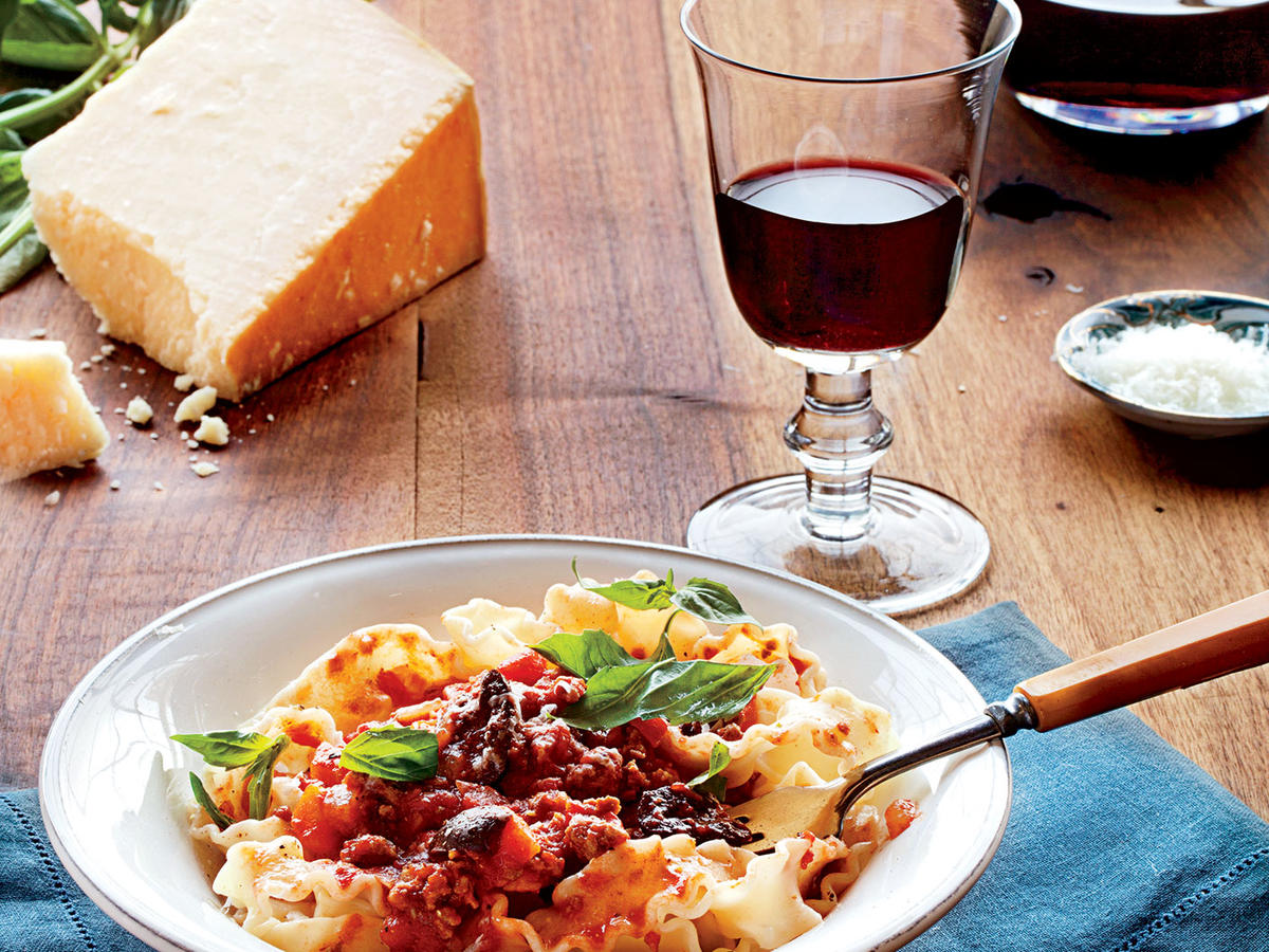 Slow-Simmered Meat Sauce Recipe