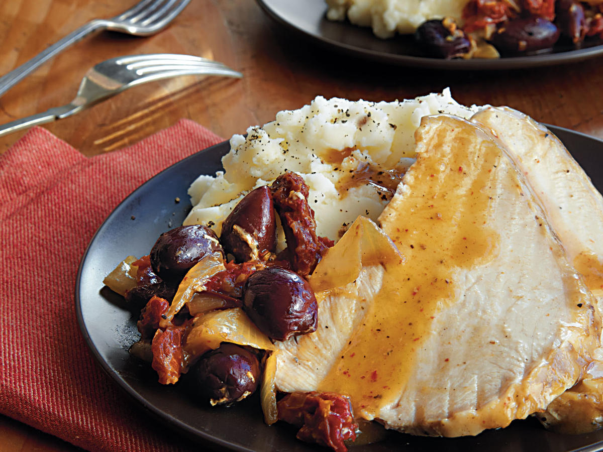 Mediterranean Roast Turkey