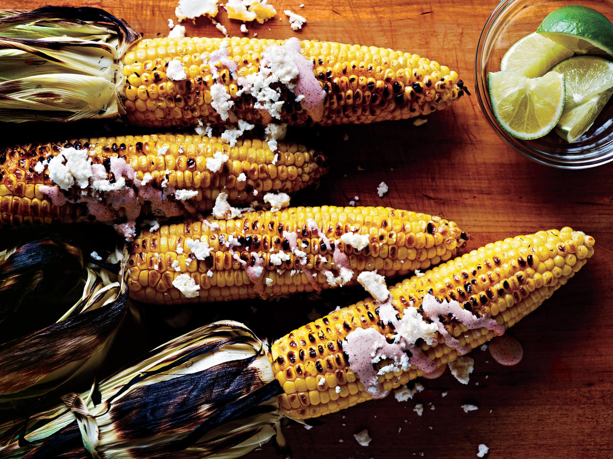 Oaxacan-Style Grilled Corn on the Cob