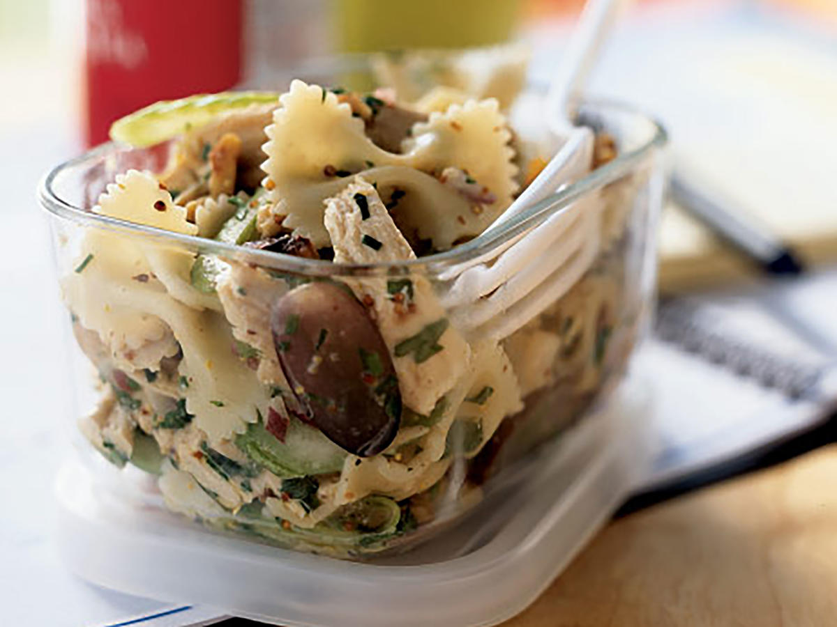 Roasted Chicken and Bow Tie Pasta Salad