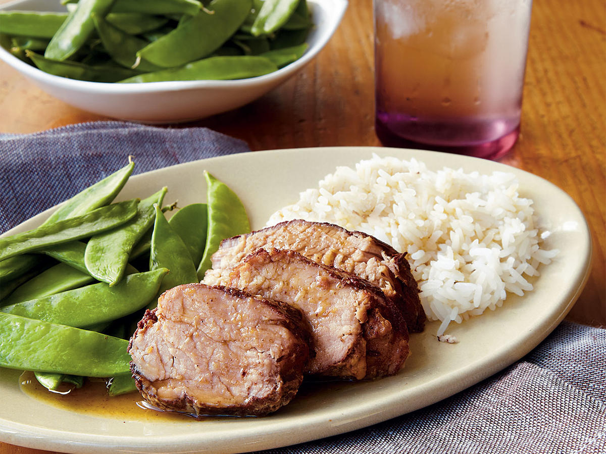Plum Pork Tenderloin