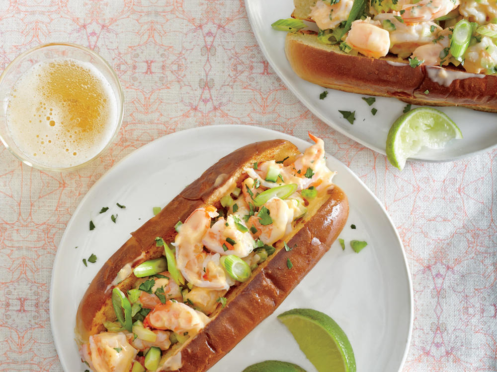 Thursday: Sriracha Shrimp Rolls