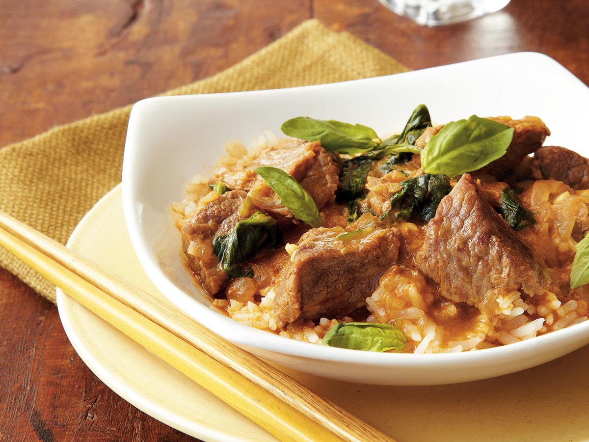 Thai Red Curry Beef