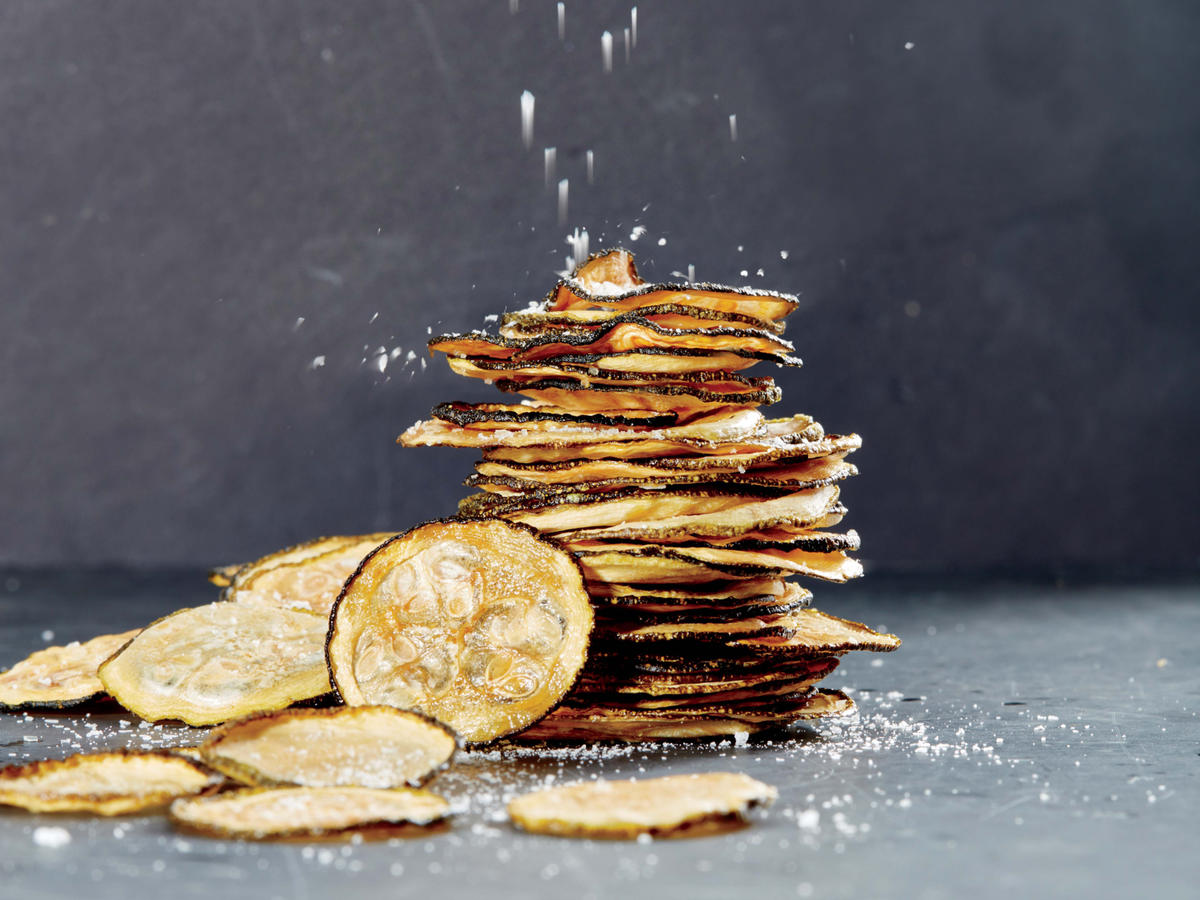 Sea Salt and Vinegar Zucchini Chips