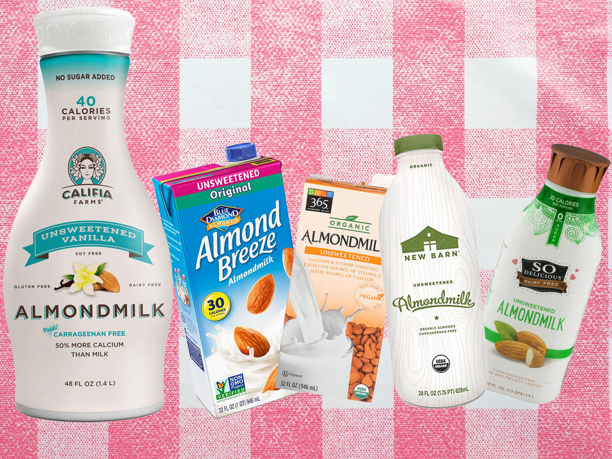We Tried 18 Different Almond Milks—And This Was Our Favorite