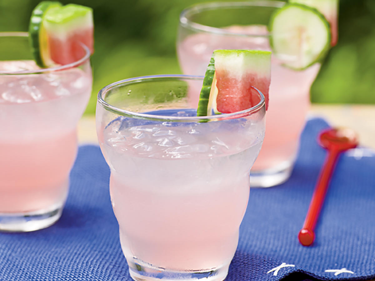 4th of July Recipes: Watermelon and Cucumber Tonic