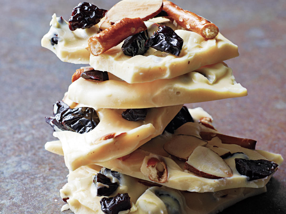 White Chocolate-Cherry Bark Recipe