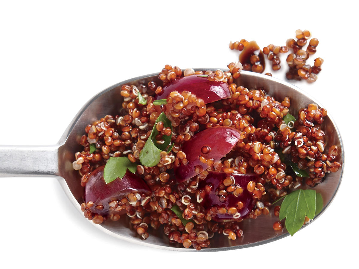 Balsamic and Grape Quinoa