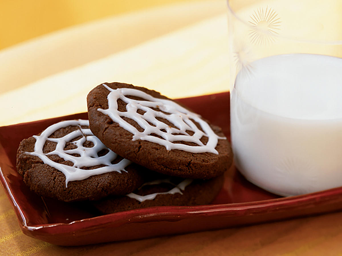 Chocolate Spiderweb Cookies Recipes