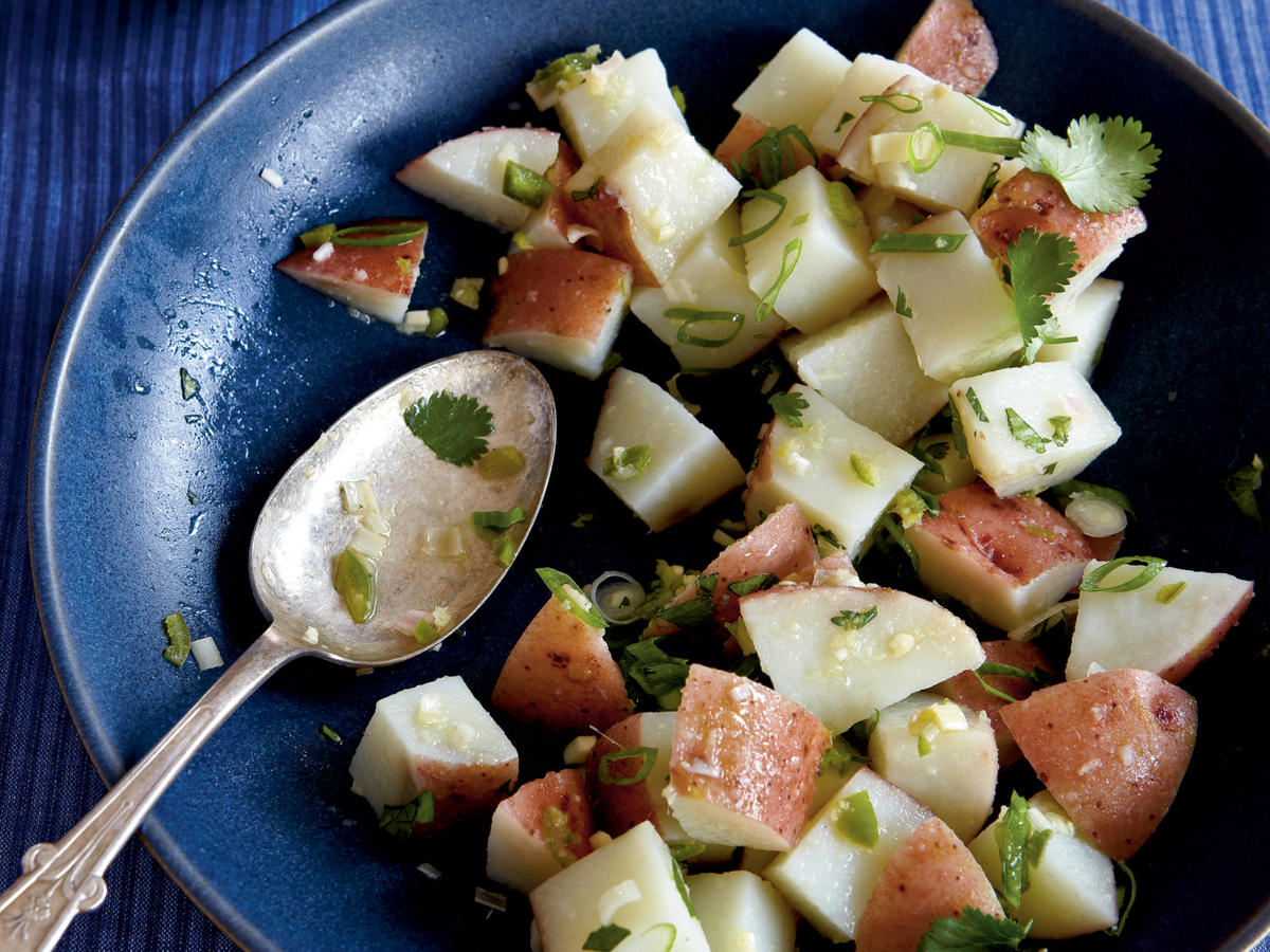 Lemongrass and Ginger Potato Salad Recipe