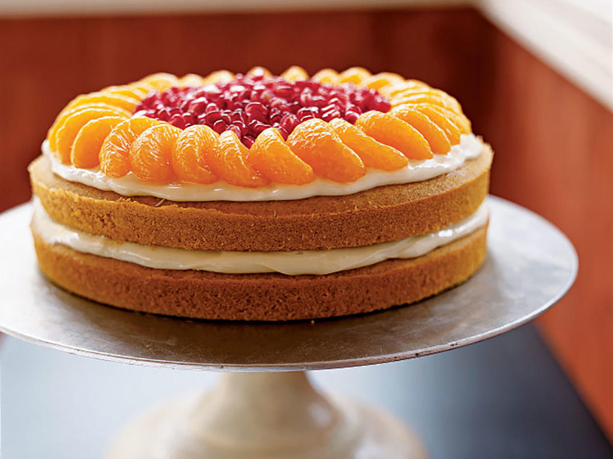 Pumpkin-Orange Cake Recipe