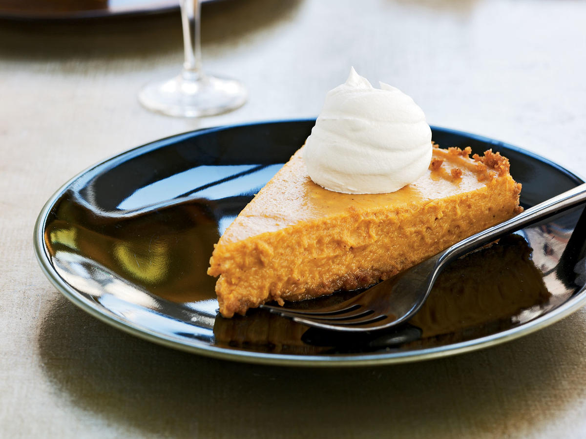 Vanilla-Bourbon Pumpkin Tart Recipes