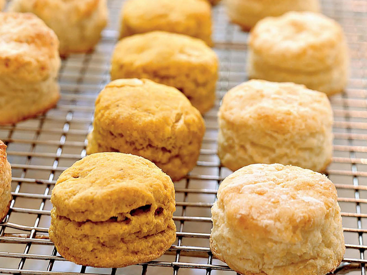 Spiced Pumpkin Biscuits Recipes