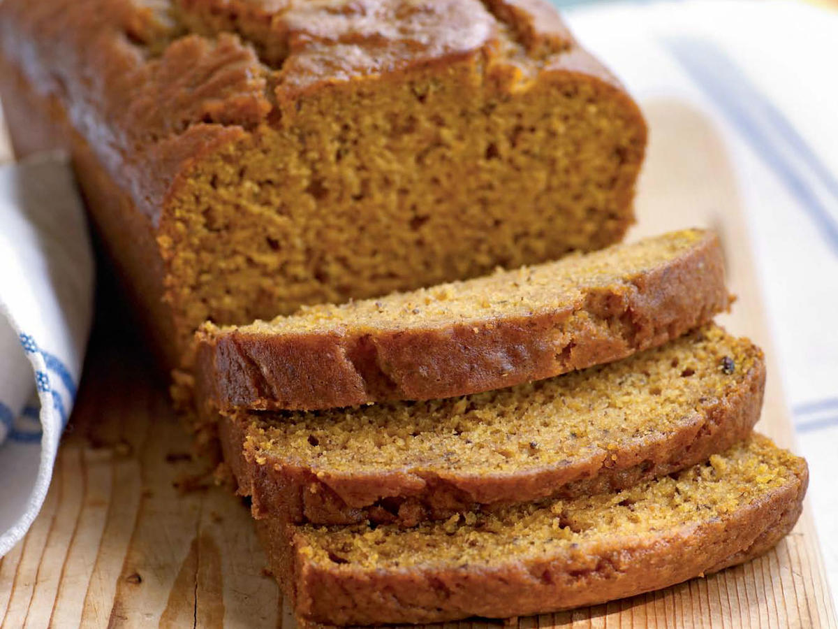 Pumpkin-Honey Beer Quick Bread