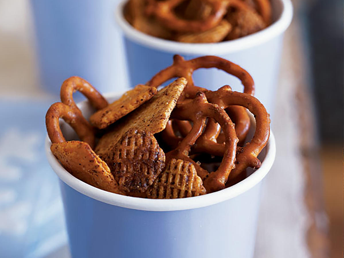 Crisp and Spicy Snack Mix Recipes