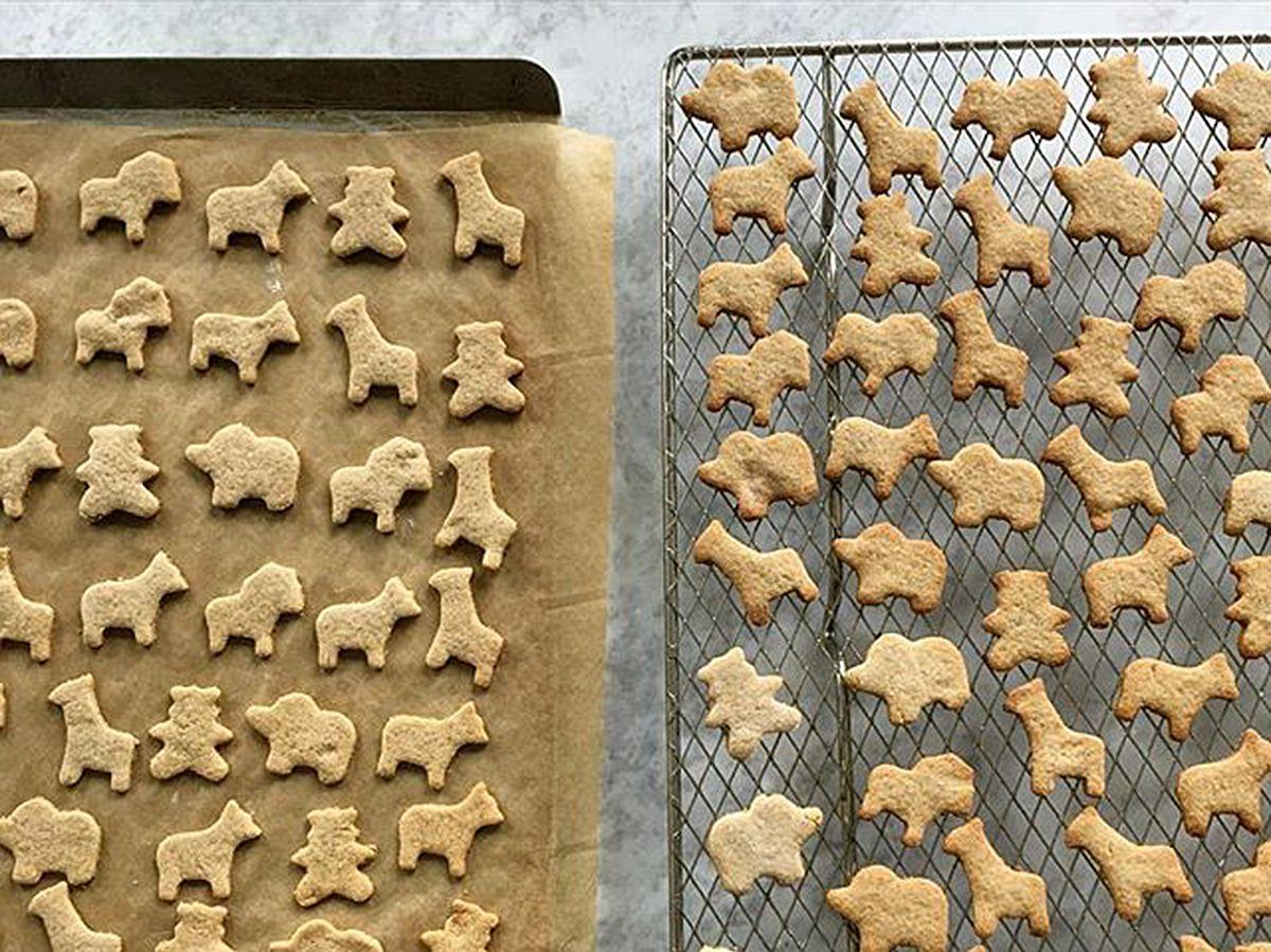 Whole Grain Animal Cracker Cookies