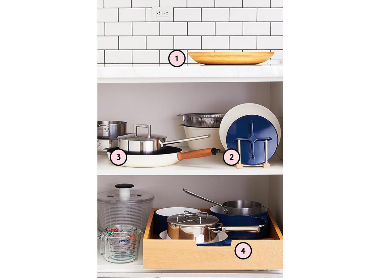 How to Organize Your Pots and Pans