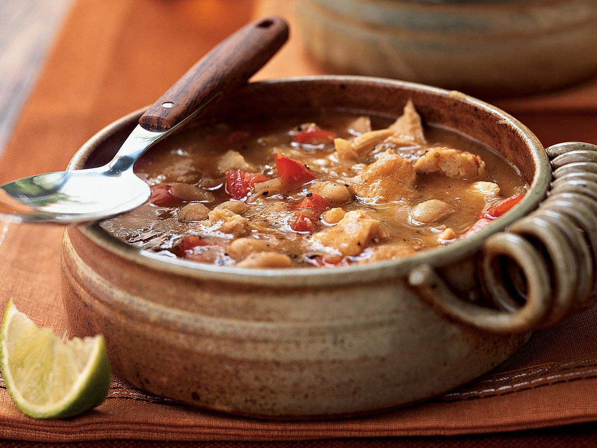 White Bean and Turkey Chili Recipe