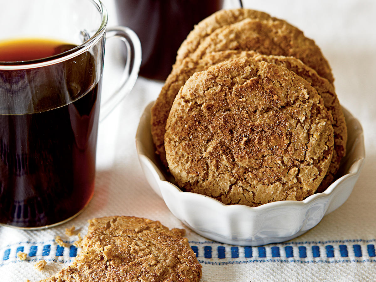 Healthy Almond Butter Snickerdoodles