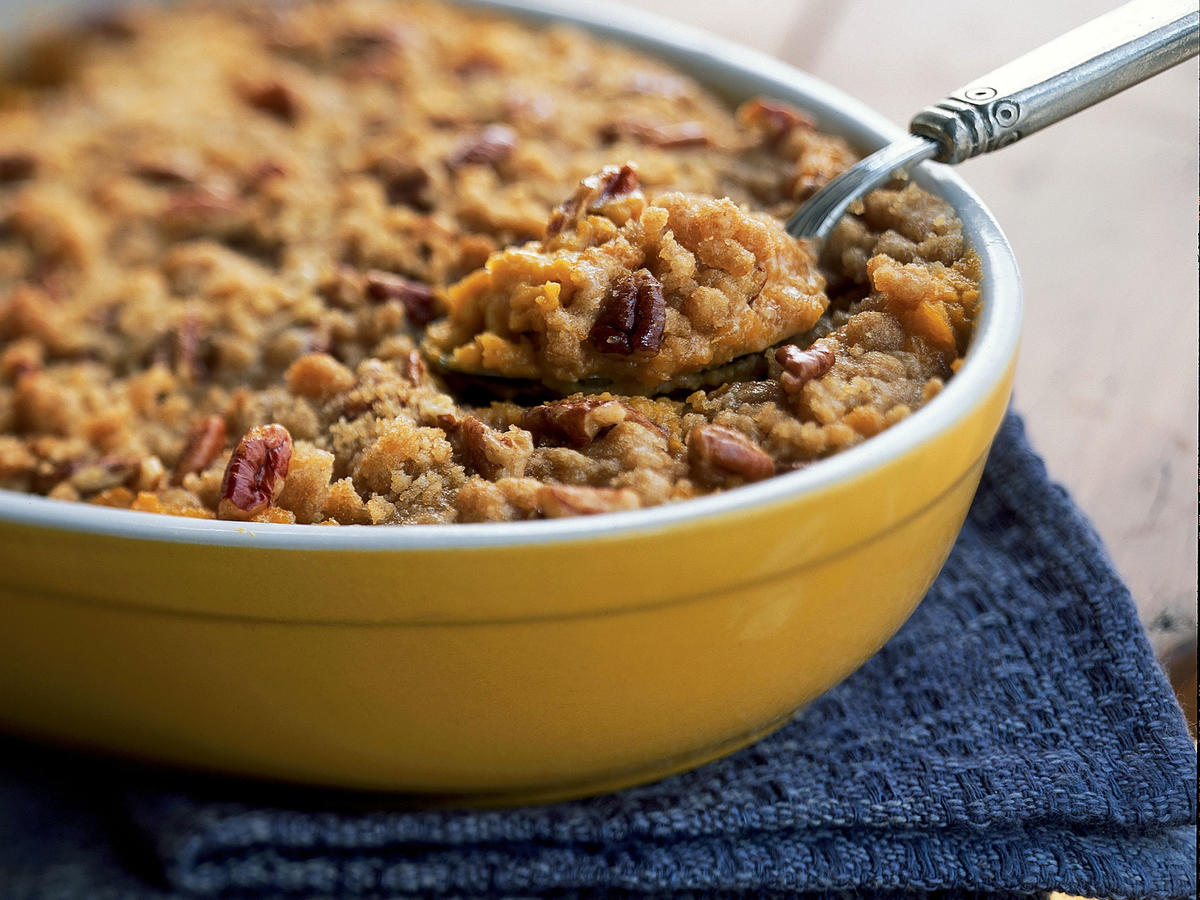 Streuseled Sweet Potato Casserole