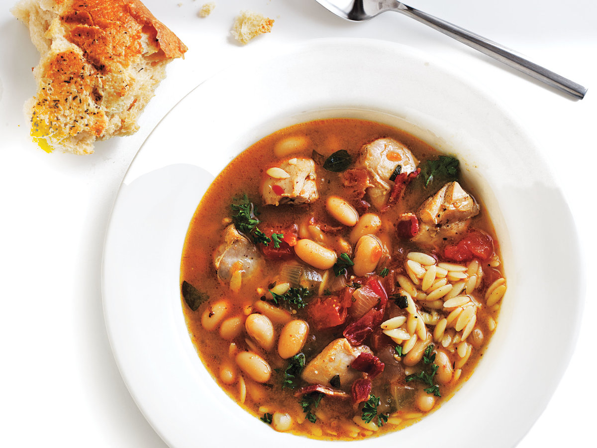 Chicken and White Bean Soup Recipe