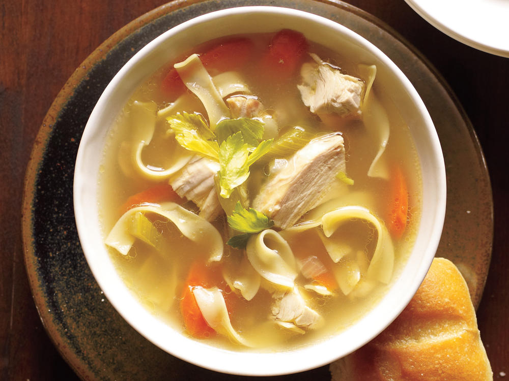 Old-Fashioned Chicken Noodle Soup Recipe