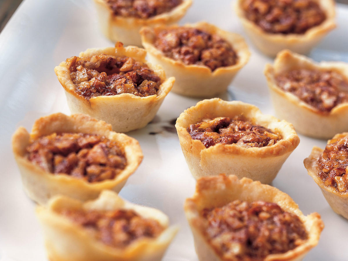Pecan Tassies in Cream Cheese Pastry