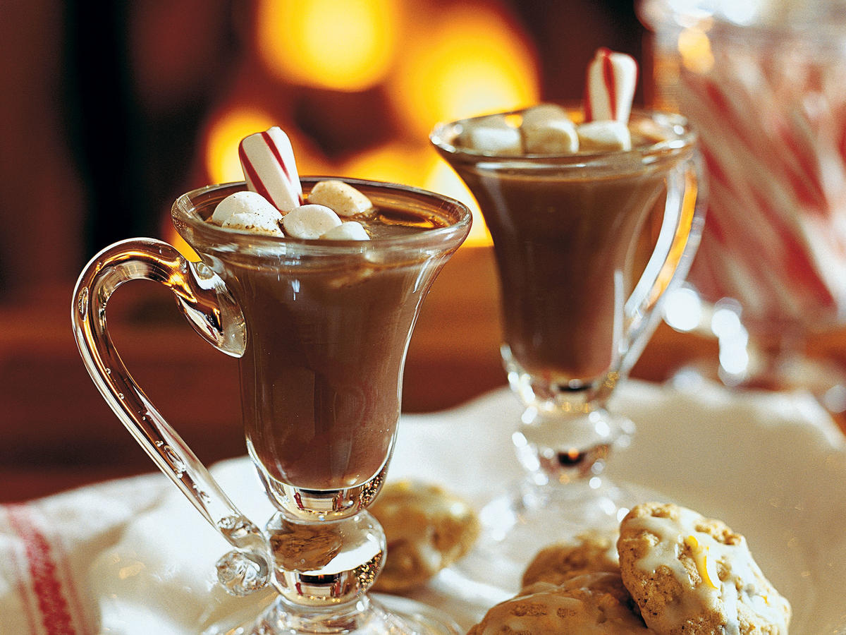 Peppermint Stick Hot Chocolate Recipes