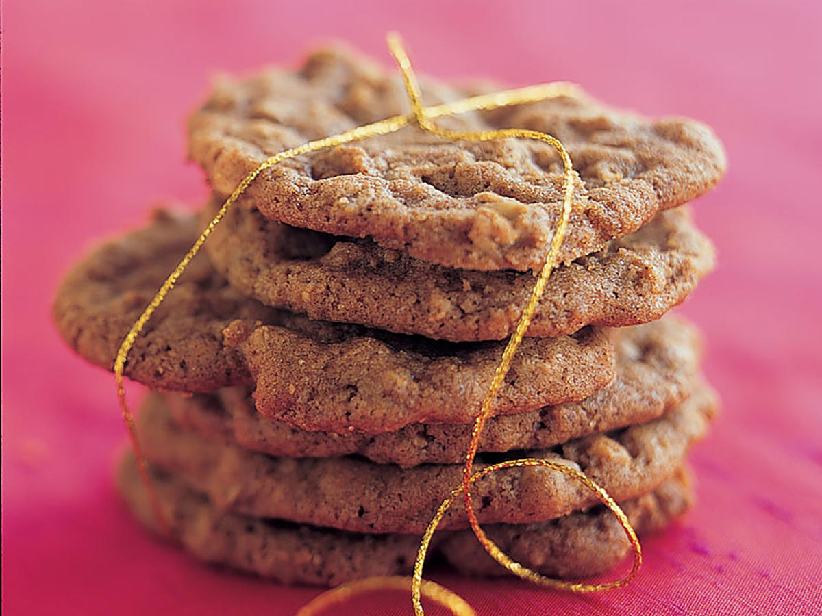 Healthy Spicy Oatmeal Crisps Cookies Recipe