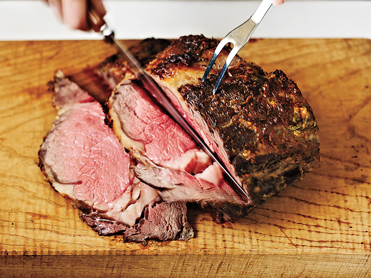 Prime Rib Primer: Rest and Carve