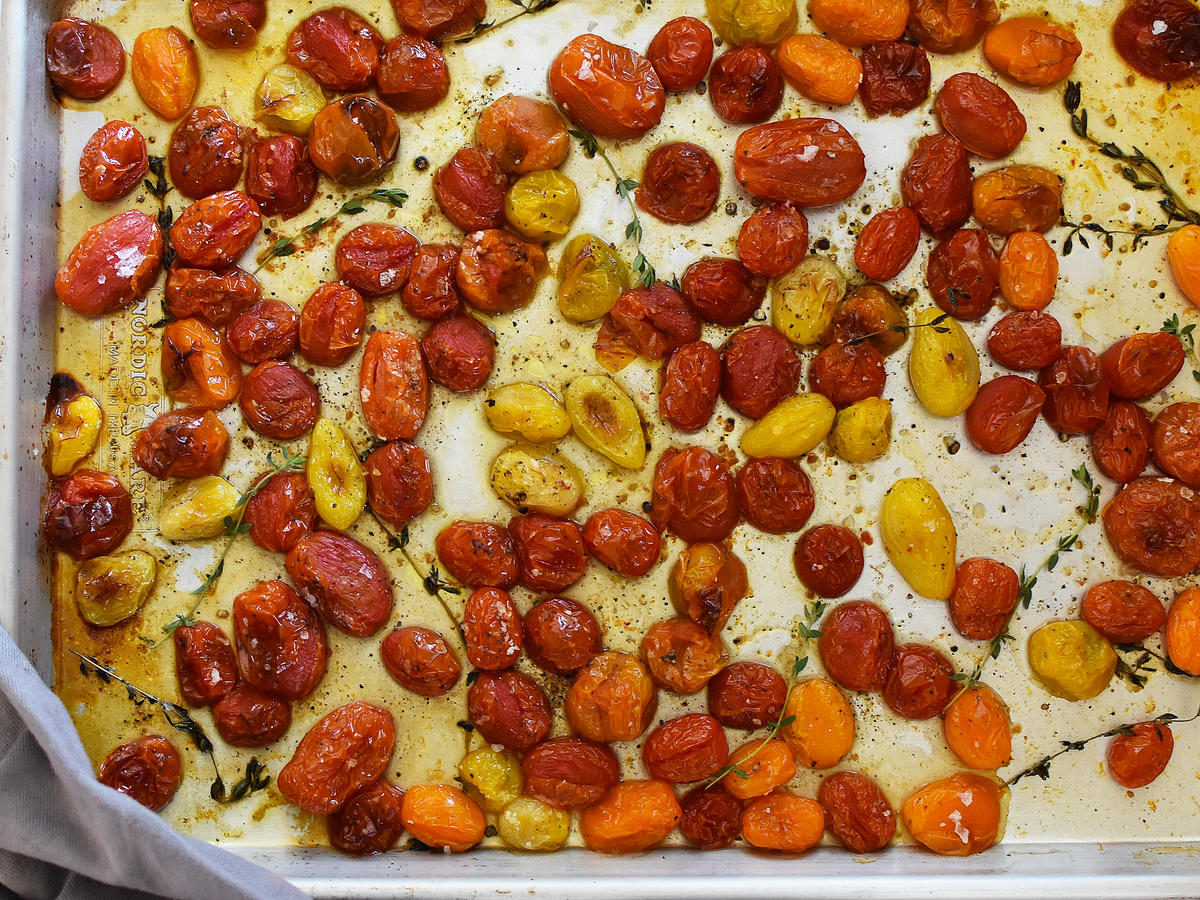 Quick-Roasted Cherry Tomatoes