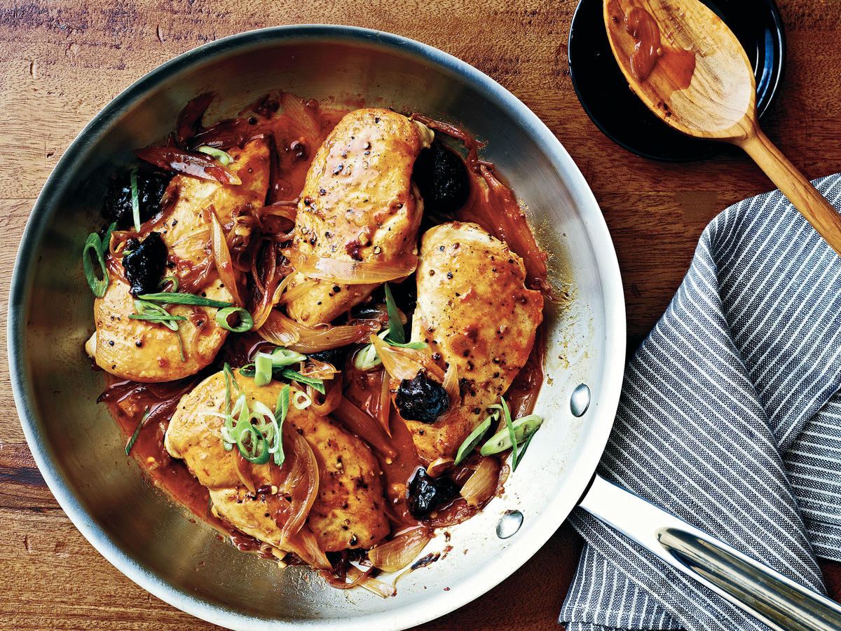 Double Plum Baked Chicken Recipe
