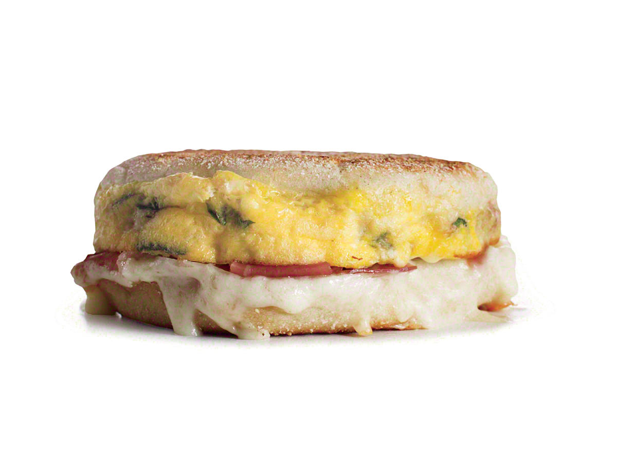 A Cheesy, Hammy Euro-Style Egg Sandwich