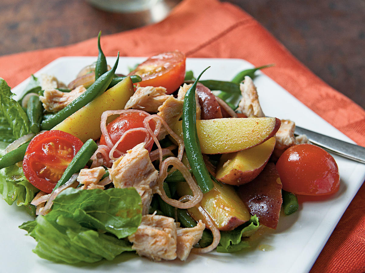 Spanish-Style Tuna and Potato Salad