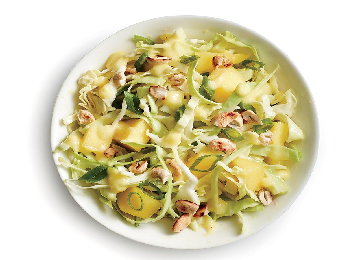 Cabbage with Mango Slaw Vinaigrette