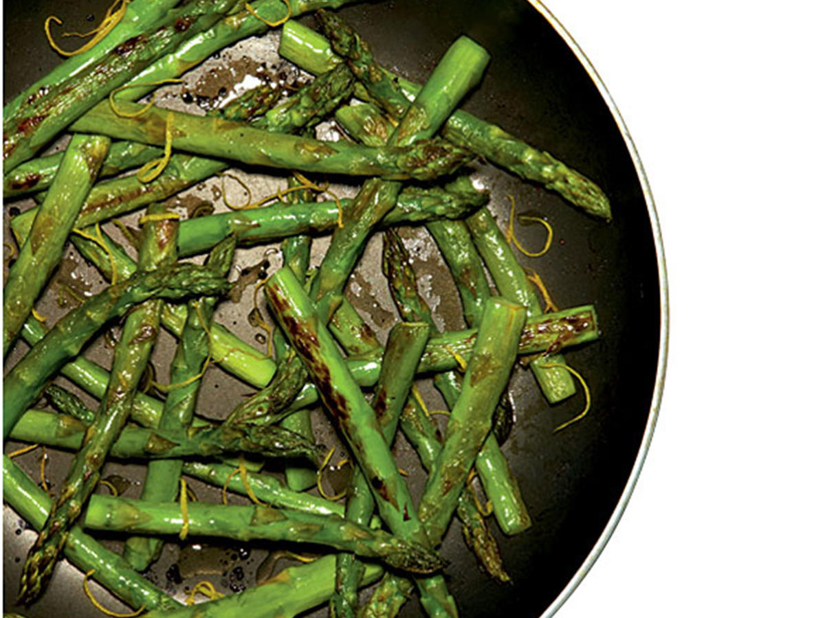 Healthy Quick Skillet Asparagus Recipe