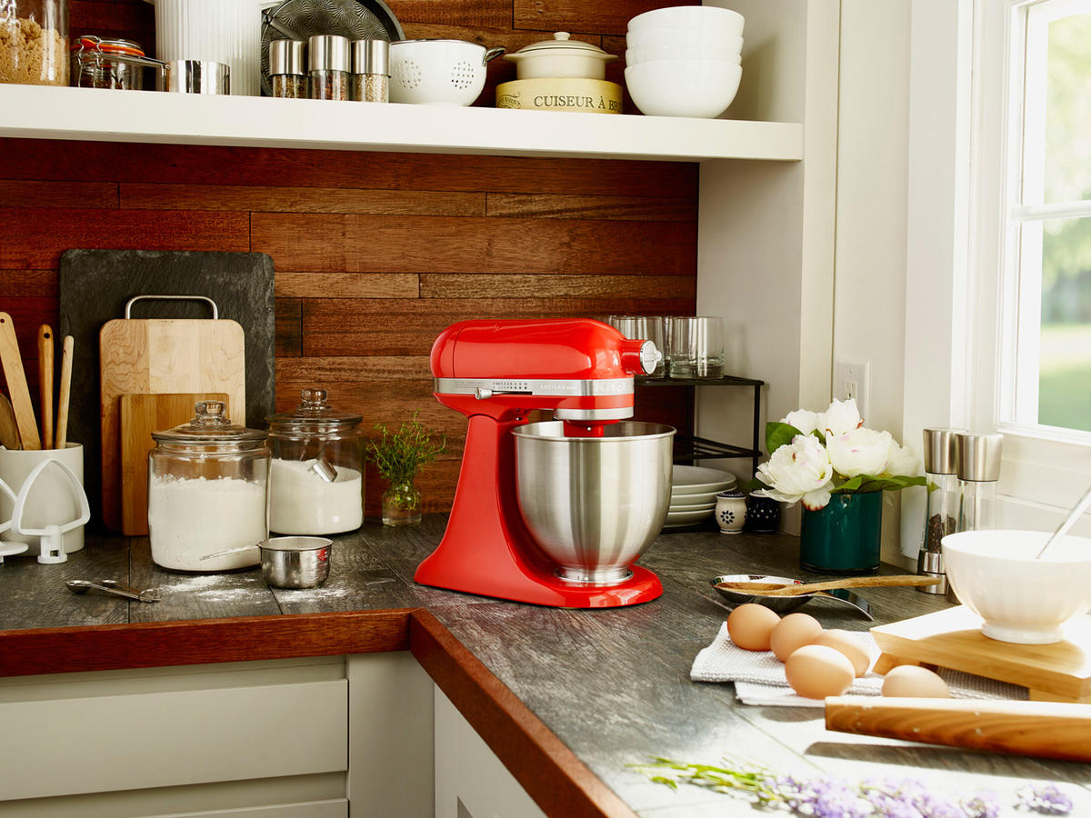 KitchenAids iconic mixers are now smaller, but just as
