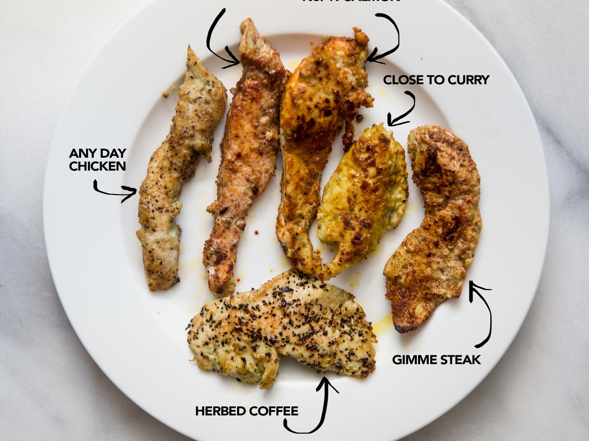how to cook chicken with spices
