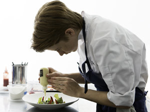 Flynn McGarry, 13, cuts a new path to chefdom.